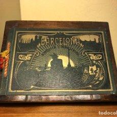 Fotografía antigua: BARCELONA ARTÍSTICA E INDUSTRIAL- 1912 -LUJOSO ÁLBUM DE FOTOGRAFÍAS CON RESUMEN HISTÓRICO -THOMAS. Lote 114306455