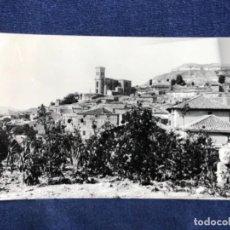 Fotografía antigua: FOTO PAMPLIEGA PUEBLO 1964 FOTOGRAFIA POSTAL INSCRITA CIRCULADA SELLO SUPRIMIDO. Lote 187145486