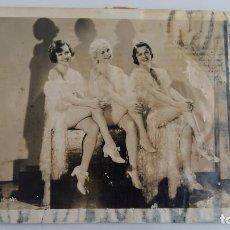 Fotografía antigua: ANTIGUA FOTOGRAFIA DE LAS CORISTAS DE LA REVISTA MUSICAL DE LA METRO-GOLDWYN-MAYER. VER FOTOS. Lote 114429151