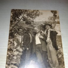Fotografía antigua: ANTIGUA FOTOGRAFIA TOMADA EN 1924 DIA DE LA VIRGEN DE LA PALOMA. Lote 114664258