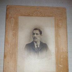 Fotografía antigua: ANTIGUA FOTOGRAFIA COCHE ARTISTICO PRINCIPIOS DE 1900. Lote 114664311