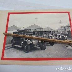 Fotografía antigua: ANTIGUA FOTOGRAFÍA DE COCHES ROLLS ROYCE ANTIQUE OLD PHOTO. FOTO. Lote 114679187