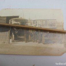 Fotografía antigua: ANTIGUA FOTOGRAFÍA DE COCHES, TAXIS O AUTOBÚS, ANTIQUE OLD PHOTO SLOUCH WINDSOR BURNHAM. Lote 114695799