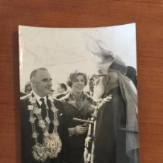 Fotografía antigua: FOTO ORIGINAL AGENCIA KEYSTONE. VISITA OFICIAL DE M. POMPIDOU A PAKISTAN. AÑO 1965.. Lote 114720543