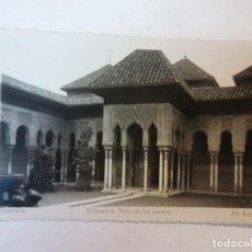 Fotografia antica: BONITA FOTO POSTAL. GRANADA-ALHAMBRA. Nº 31. ED ARRIBA. CIRCULADA. Lote 114956459