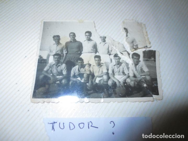 Fotografía antigua: PANTILLA ANTIGUA FUTBOL FOTO REVERSO PONE TUDOR . - Foto 4 - 115650247