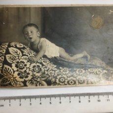 FOTO. BEBE. FOTOG. ANÓNIMO H. 1920