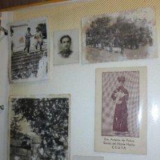 Fotografía antigua: LOTE 6 ANTIGUAS FOTOS MILITARES SOLDADOS ESPAÑOLES EN YEMEN CEUTA. Lote 116631791