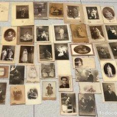 Fotografía antigua: FOTOGRAFIAS ANTIGUAS PRINCIPIOS DE SIGLO XX · ALICANTE · VARIOS FOTOGRAFOS MEDIDAS Y FORMATOS ·. Lote 116786051