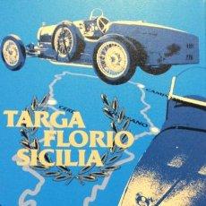 Fotografía antigua: FOTOGRAFIA BUGATTI - TARGA FLORIO SICILIA - CERTIFICADO Y SERIE LIMITADA 5/25 -ENVIO GRATIS. Lote 117008843