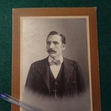 Fotografía antigua: FOTOGRAFIA GRANDE EMIGRANTE ESPAÑOL EN CUBA.HABANA,CARTON. AÑOS 1920.FOTOGRAFO E. MACEO Y HNO.ESPAÑA. Lote 117089743