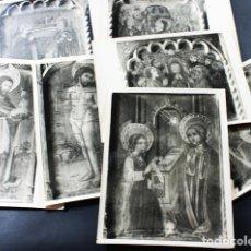 Fotografía antigua: LOTE 7 FOTOGRAFIAS FOTO MAS BARCELONA, PARECEN DE RETABLOS, VER IMAGENES. Lote 118698091