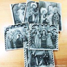 Fotografía antigua: LOTE 6 FOTOGRAFIAS FOTO ROBERT PASEO DE GRACIA BARCELONA, PARECEN DE RETABLOS, VER IMAGENES. Lote 118698391