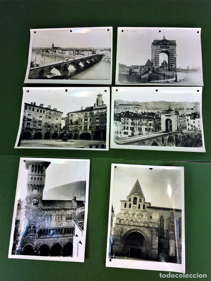 6 FOTOGRAFIAS DE CIUDADES FRANCESAS. REPRODUCCIONES FOTOGRÁFICAS. FRANCIA. CIRCA 1950 (Fotografía - Artística)