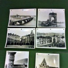 Fotografía antigua: 6 FOTOGRAFIAS DE CIUDADES FRANCESAS. REPRODUCCIONES FOTOGRÁFICAS. FRANCIA. CIRCA 1950. Lote 118811063