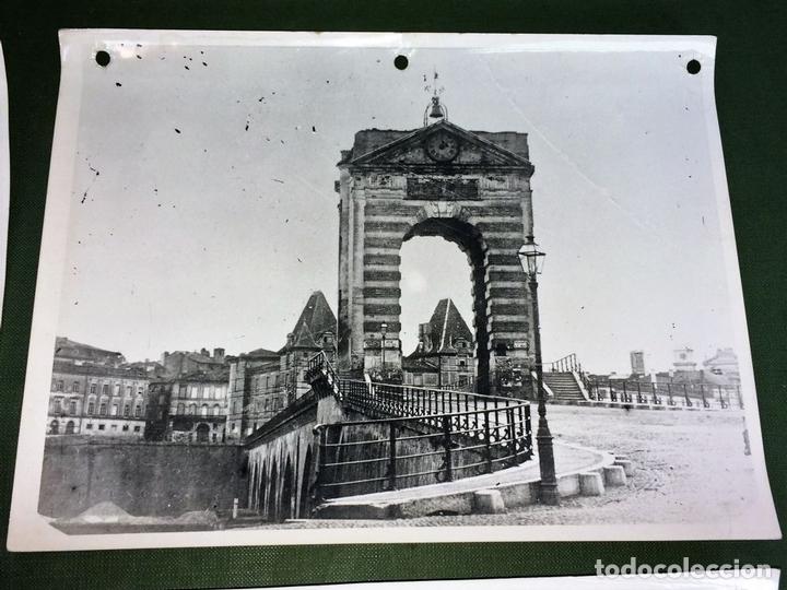 Fotografía antigua: 6 FOTOGRAFIAS DE CIUDADES FRANCESAS. REPRODUCCIONES FOTOGRÁFICAS. FRANCIA. CIRCA 1950 - Foto 2 - 118811063