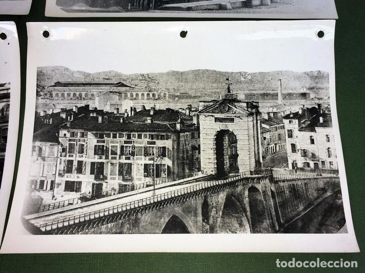 Fotografía antigua: 6 FOTOGRAFIAS DE CIUDADES FRANCESAS. REPRODUCCIONES FOTOGRÁFICAS. FRANCIA. CIRCA 1950 - Foto 6 - 118811063