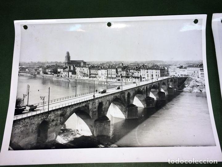 Fotografía antigua: 6 FOTOGRAFIAS DE CIUDADES FRANCESAS. REPRODUCCIONES FOTOGRÁFICAS. FRANCIA. CIRCA 1950 - Foto 7 - 118811063