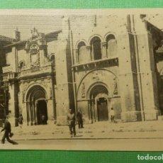 Fotografía antigua: FOTOGRAFÍA - FOTO - BLANCO-NEGRO - B/N - 7,5 CM. X 10,5 CM. - SAN ISIDORO - LEÓN AÑO 1963. Lote 118812991