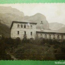 Fotografía antigua: FOTOGRAFÍA - FOTO - BLANCO-NEGRO - B/N - 7,5 CM. X 10,5 CM. - ORDESA - AÑO 1963. Lote 119272787