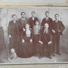 Fotografía antigua: ANTIGUA FOTOGRAFÍA FAMILIAR. WINOCIO T. PÉREZ, LEON. Lote 119432043