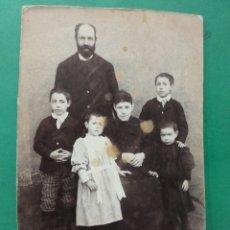 Fotografía antigua: FOTO FAMILIAR ANTIGUA. A. DEMIERRE FOTOGRAFÍA. Lote 119432814