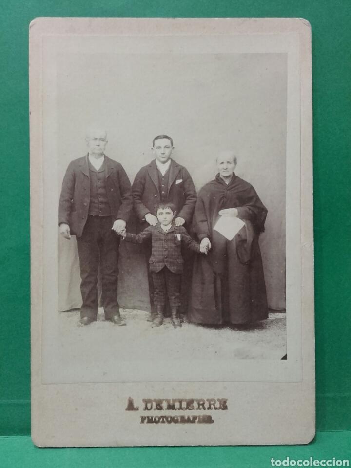 ANTIGUA FOTO FAMILIAR. A. DEMIERRE FOTOGRAFIA (Fotografía - Artística)