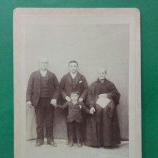Fotografía antigua: ANTIGUA FOTO FAMILIAR. A. DEMIERRE FOTOGRAFIA. Lote 119433048