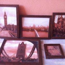 Fotografía antigua: FOTOGRAFÍAS ANTIGUAS DE LONDRES. Lote 119880971