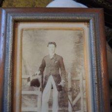Fotografía antigua: DANDY INGLES FINALES S.XIX. Lote 120457979