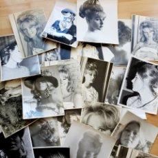 Fotografía antigua: LOTE DE 22 FOTOGRAFÍAS, ALGUNAS DE ESTUDIO ARTISTA, MODELO'? 25X20CM. Lote 120836834