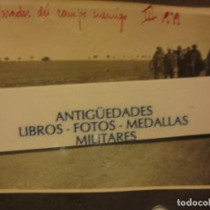 Fotografía antigua: PASADOS DEL FRENTE ENEMIGO GUERRA CIVIL ESPAÑOLA III-1939 LEGION . Lote 121194815