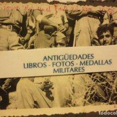 Fotografía antigua: BATALLA DEL EBRO FOTO ORIGINAL INEDITA SOLDADOS PRISIONEROS IX - 1938 GUERRA CIVIL LEGION. Lote 121280775