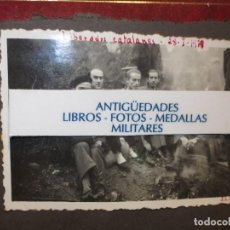Fotografía antigua: FOTO ORIGINAL LIBERADOS CATALANES 28- I- 1939 GUERRA CIVIL ESPAÑOLA LEGION. Lote 121317059