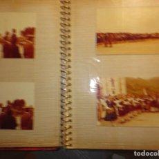 Fotografía antigua: PRINCIPES ASTURIAS REYES SOFIA Y JUAN CARLOS VISITA DESFILE EN CUDILLEROS ALBUM 24 FOTOS ANTIGUO. Lote 121430615