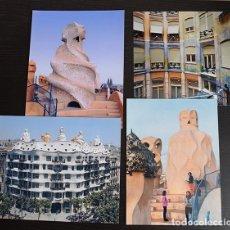 Fotografía antigua: ANTONI GAUDÍ - 7 EXCELENTES FOTOGRAFÍAS DE CASA MILÁ-LA PEDRERA, AÑO 2002.. Lote 121513947