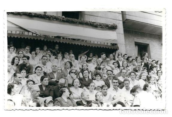 25200- BONITA FOTOGRAFIA ANTIGUA DE - FIESTAS EN EL PUEBLO -FOTO -ALLICA DE 1.952 (Fotografía - Artística)