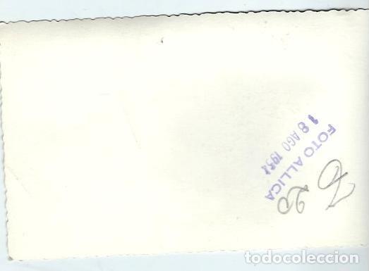 Fotografía antigua: 25200- BONITA FOTOGRAFIA ANTIGUA DE - FIESTAS EN EL PUEBLO -FOTO -ALLICA de 1.952 - Foto 2 - 121998783
