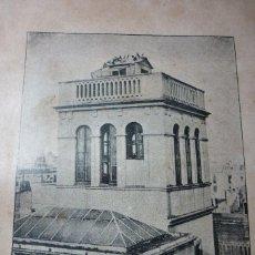 Fotografía antigua: AÑO 1896 PALOMAR DEL AUTOR EN BARCELONA. Lote 122146867