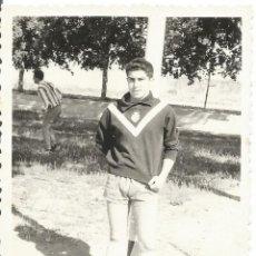 Fotografía antigua: == K820 - FOTOGRAFIA - JOVEN PORTERO DE FUTBOL. Lote 122166979