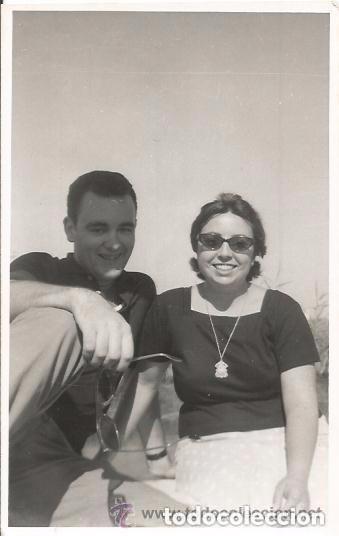 == A01 - FOTOGRAFIA - PAREJA EN LA ALBUFERA - 1960 (Fotografía - Artística)