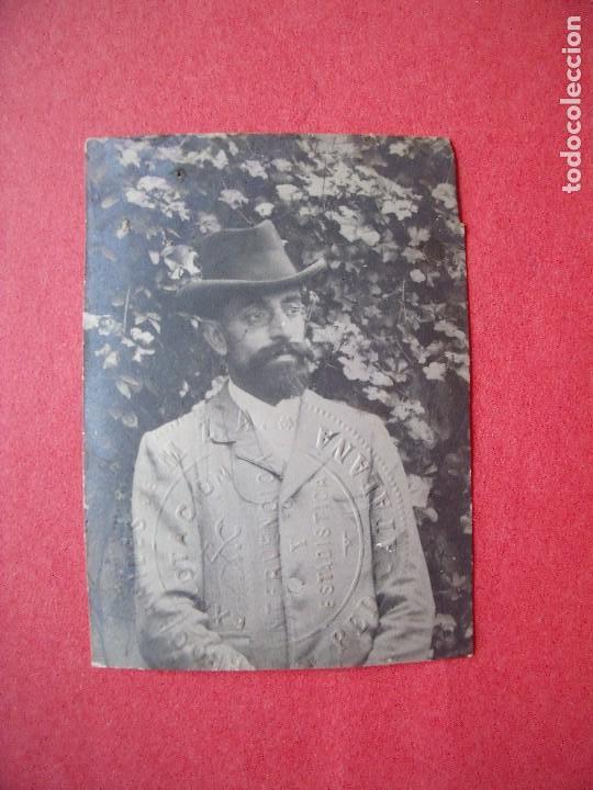 EDUARDO AGUSTI Y SALADRIGAS.-FERROCARRILES.-M.Z.A.-RED CATALANA.-INTERVENCION.-FOTOGRAFIA.-AÑO 1904 (Fotografía - Artística)