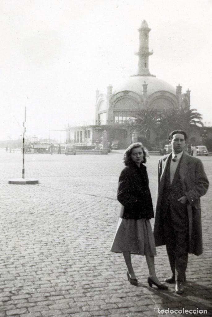 REAL CLUB MARÍTIM, BARCELONA, ARQUITECTO SAGNIER, 1940S, 3 FOTOS (Fotografía - Artística)