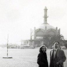 Fotografía antigua: REAL CLUB MARÍTIM, BARCELONA, ARQUITECTO SAGNIER, 1940S, 3 FOTOS. Lote 123062963