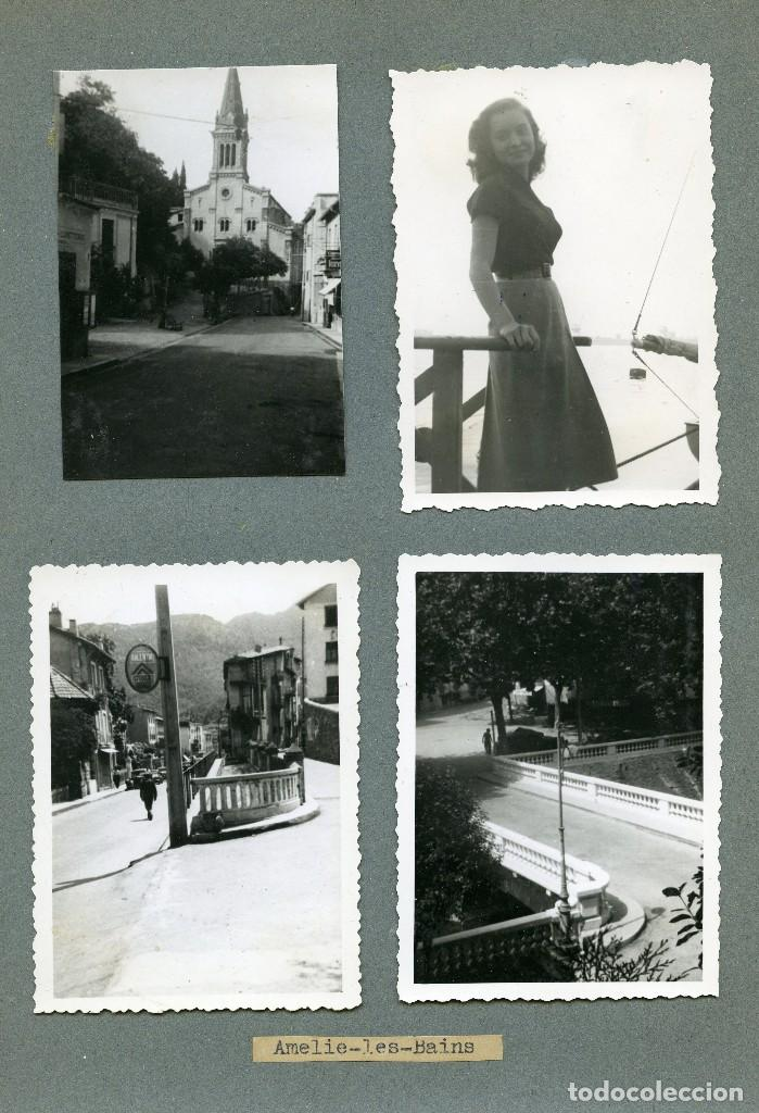 Fotografía antigua: Amelie les Bains, Francia, 13 fotos 1940s - Foto 4 - 123063327
