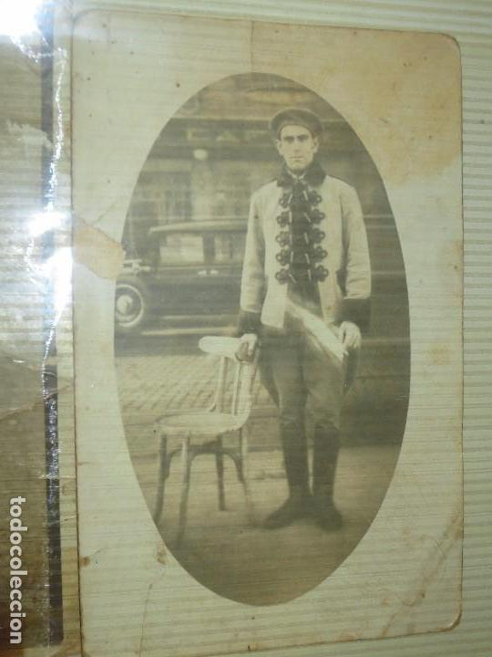 Fotografía antigua: RARAS E IMPORTANTE MILITARES LOTE FOTOS ANTIGUAS ALICANTE TAMAÑO POSTAL - Foto 2 - 123083951