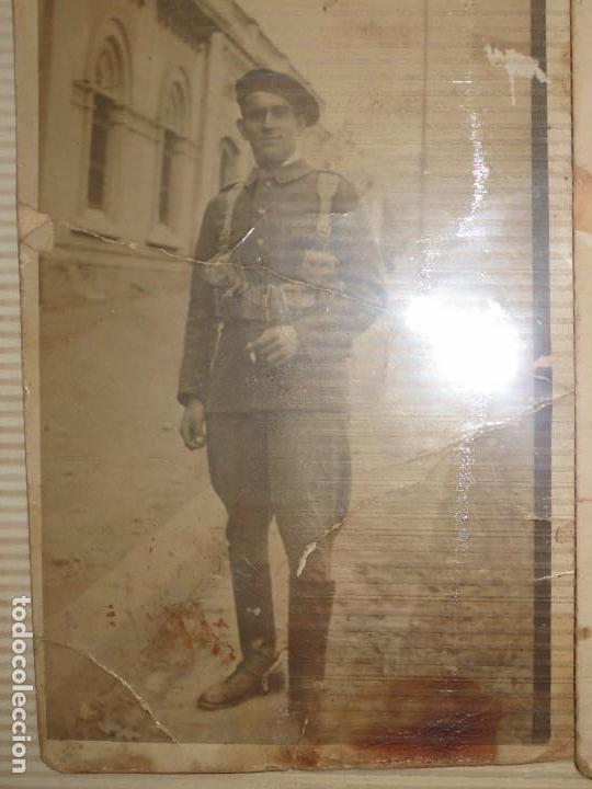 Fotografía antigua: RARAS E IMPORTANTE MILITARES LOTE FOTOS ANTIGUAS ALICANTE TAMAÑO POSTAL - Foto 3 - 123083951