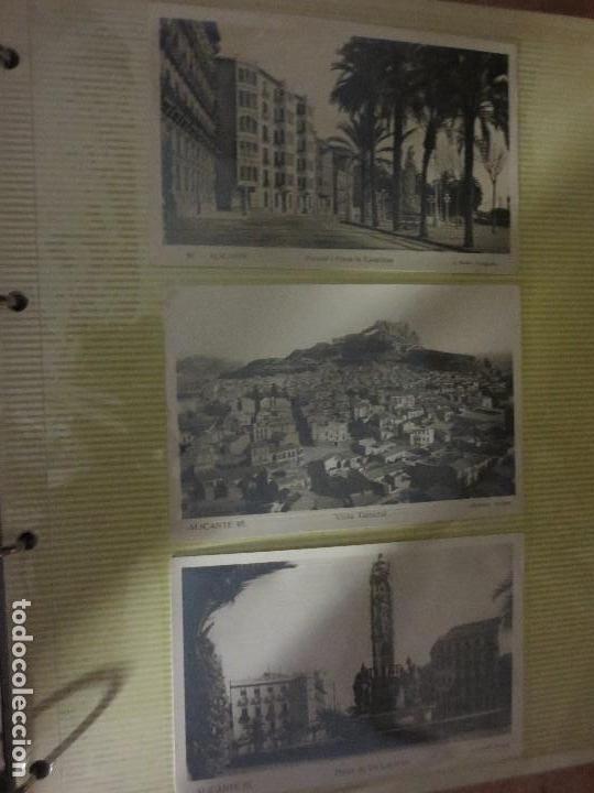 Fotografía antigua: LOTE FOTOS ORIGINALES ANTIGUAS ALICANTE TAMAÑO POSTAL CALLES - Foto 3 - 123083987