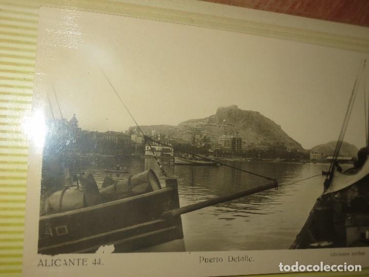 Fotografía antigua: LOTE FOTOS ORIGINALES ANTIGUAS ALICANTE TAMAÑO POSTAL CALLES - Foto 5 - 123083987