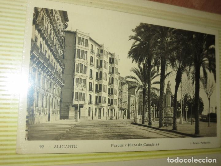 Fotografía antigua: LOTE FOTOS ORIGINALES ANTIGUAS ALICANTE TAMAÑO POSTAL CALLES - Foto 6 - 123083987